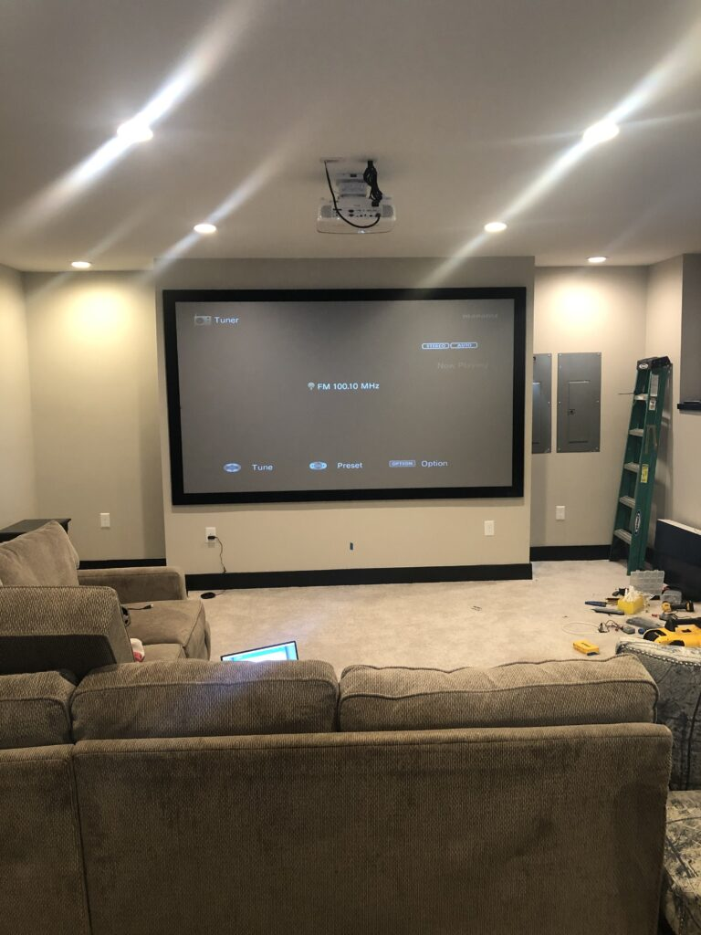 Home Theater Installation Services in Lexington KY